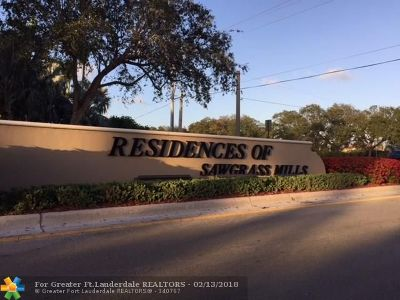 Sunrise Residential Lots & Land For Sale: 1000 NW 124th Ter