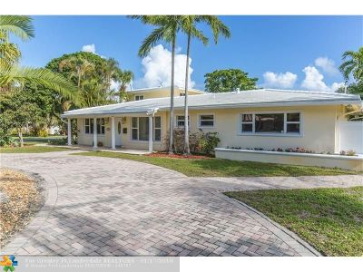 Fort Lauderdale Single Family Home For Sale: 2660 NE 26th Ter