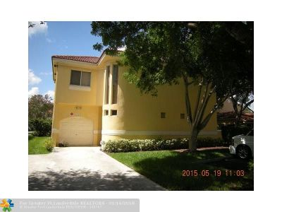 Coral Springs Rental For Rent: 11373 Lakeview Dr #73-T