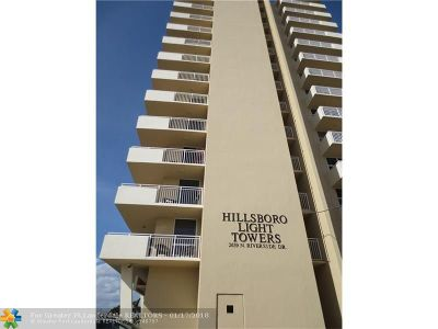 Pompano Beach Condo/Townhouse For Sale: 2639 N Riverside Dr #1003
