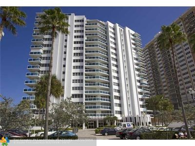 Fort Lauderdale Condo/Townhouse For Sale: 3430 Galt Ocean Dr #705