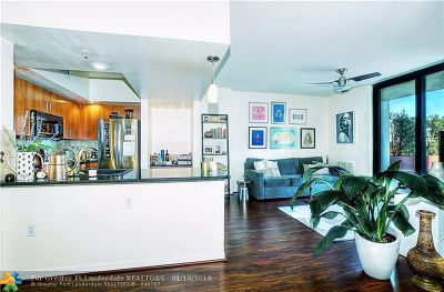 Fort Lauderdale Condo/Townhouse For Sale: 100 N Federal #524