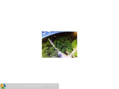 Broward County Residential Lots & Land For Sale: 7051 NW 84th Ave