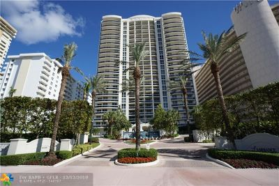 Fort Lauderdale Condo/Townhouse For Sale: 4240 Galt Ocean Dr #1506