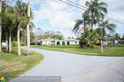 Parkland Single Family Home For Sale: 6324 NW 79th Way