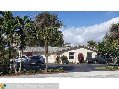 Coral Springs Multi Family Home For Sale: 3502 Riverside Dr