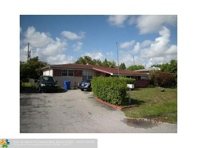 Hollywood Single Family Home For Sale: 6532 Flagler St
