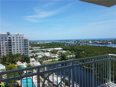 Boynton Beach Condo/Townhouse For Sale: 350 N Federal Hwy #1410S