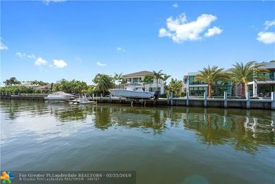 Fort Lauderdale Single Family Home For Sale: 621 Riviera Drive