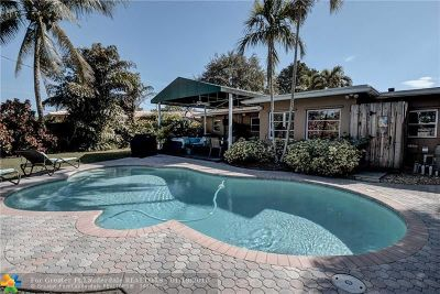 Wilton Manors Single Family Home For Sale: 617 NW 28th Ct
