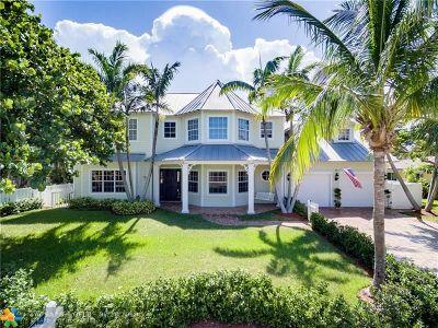 Lighthouse Point Single Family Home For Sale: 3433 NE 31st Av