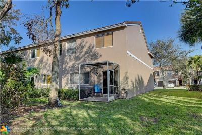 Plantation Condo/Townhouse For Sale: 13220 NW 7th Pl #13220