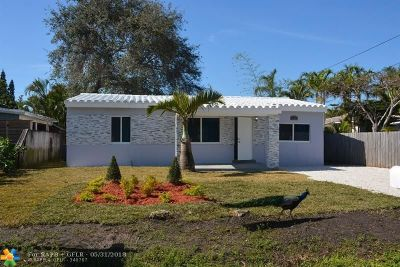 Broward County Single Family Home For Sale: 1737 NW 7th Ter