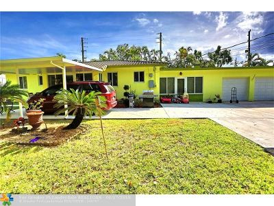 Fort Lauderdale Single Family Home For Sale: 2600 SW 18th Ter