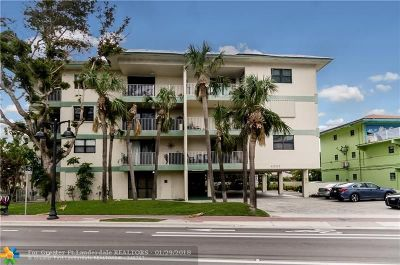 Fort Lauderdale Condo/Townhouse For Sale: 4007 N Ocean Blvd #103