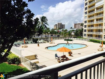 Pompano Beach Condo/Townhouse For Sale: 201 N Ocean Blvd #204