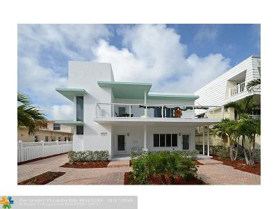 Lauderdale By The Sea Multi Family Home For Sale: 4241 El Mar Dr