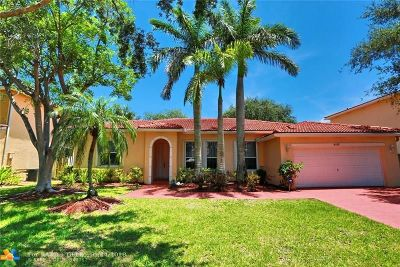 Coconut Creek Single Family Home For Sale: 4268 NW 41st Ln
