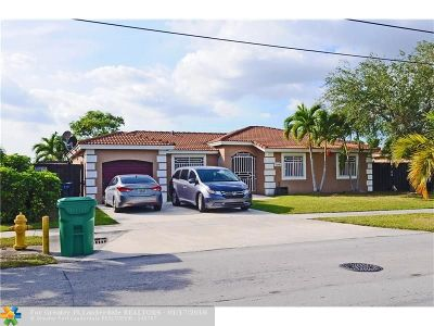 Miami Single Family Home For Sale: 21900 SW 124th Ave