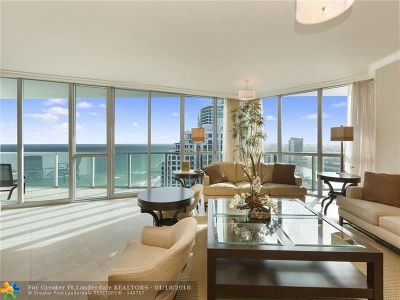 Hollywood Condo/Townhouse For Sale: 3101 S Ocean Dr #2906