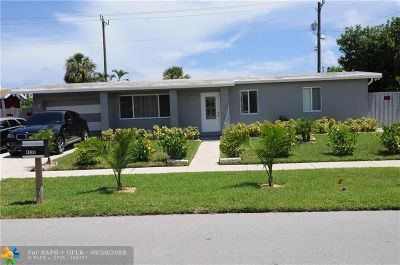 Pompano Beach Single Family Home For Sale: 4530 NE 18th Ave