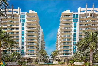 Fort Lauderdale Condo/Townhouse For Sale: 2831 N Ocean Blvd #208