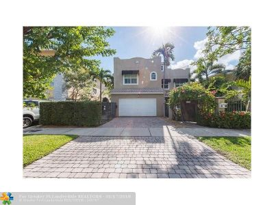 Fort Lauderdale Condo/Townhouse For Sale: 1116 NE 1st St #1116