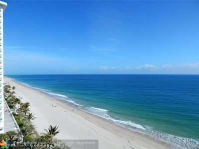 Condo/Townhouse For Sale: 3200 N Ocean Blvd #1009/100