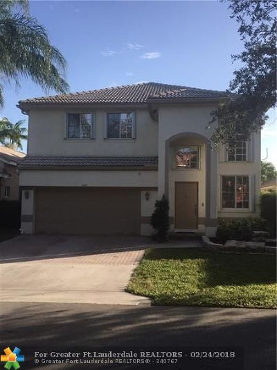 Coconut Creek Single Family Home For Sale: 5122 Heron Ct