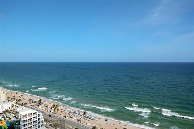 Fort Lauderdale Condo/Townhouse For Sale: 505 N Ft Lauderdale Bch Bl #2406