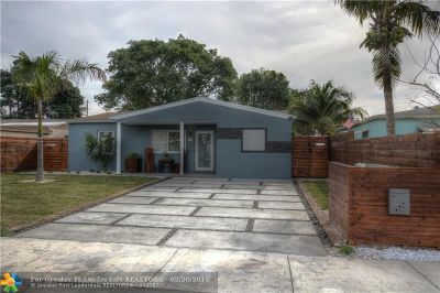 Oakland Park Single Family Home Backup Contract-Call LA: 200 NW 54th St
