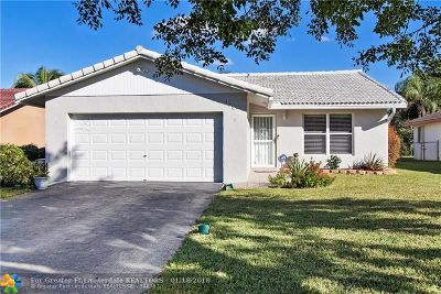 Coral Springs Single Family Home For Sale: 987 NW 87th Ave