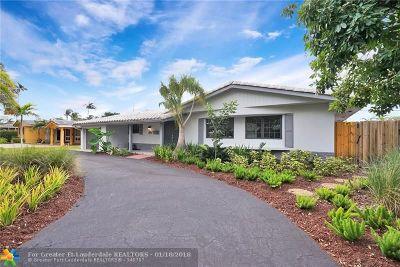 Fort Lauderdale Single Family Home For Sale: 2156 NE 63rd St