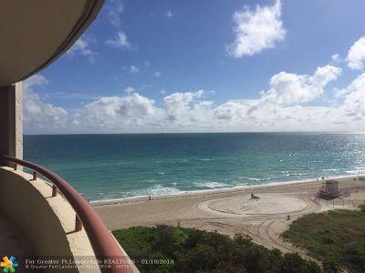 North Miami Beach Condo/Townhouse For Sale: 15645 Collins Ave #803