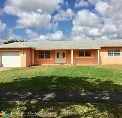 Miami Gardens Single Family Home For Sale: 1741 NW 191st St