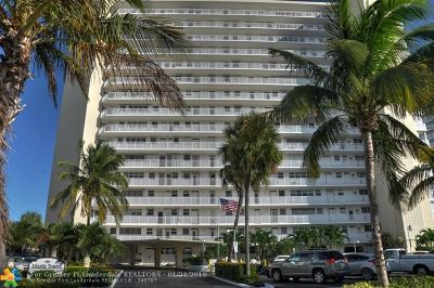 Fort Lauderdale Condo/Townhouse For Sale: 1920 S Ocean Dr. #604