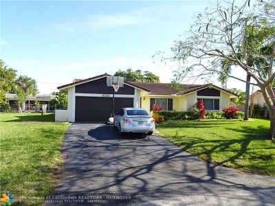 Coral Springs Single Family Home For Sale: 3721 NW 79th Ave