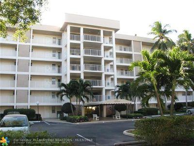 Pompano Beach Condo/Townhouse For Sale: 2600 S Course Dr #305