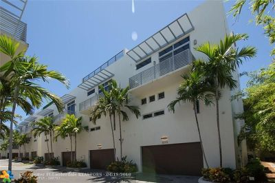 Pompano Beach Condo/Townhouse For Sale: 3270 NE 15th St #3270
