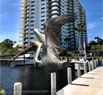 Fort Lauderdale Condo/Townhouse For Sale: 3200 Port Royale Dr #1105