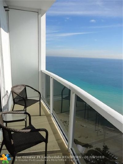 Sunny Isles Beach Condo/Townhouse For Sale: 18001 Collins Ave #1907