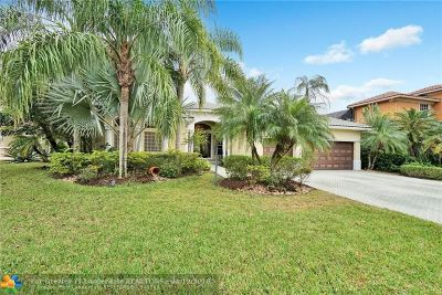Parkland Single Family Home For Sale: 6576 NW 127th Terrace