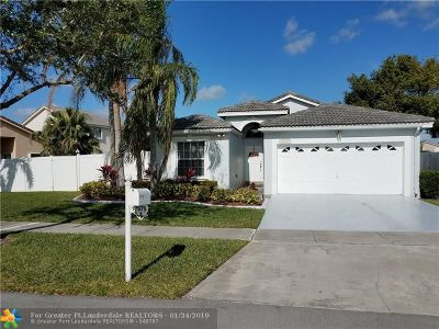 Pembroke Pines Single Family Home For Sale: 17575 SW 10th St