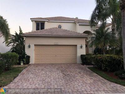 Coconut Creek Single Family Home For Sale: 5408 Eagle Cay Way