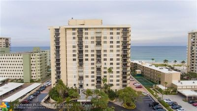 Lauderdale By The Sea Condo/Townhouse For Sale: 1900 S Ocean Blvd #6K