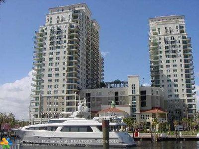 Fort Lauderdale Condo/Townhouse For Sale: 610 W Las Olas Blvd #512N