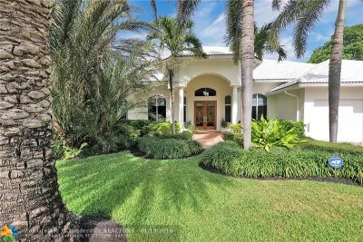 Fort Lauderdale Single Family Home For Sale: 2601 Yacht Club Blvd