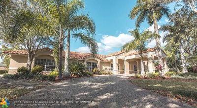 Coral Springs Single Family Home For Sale: 4300 NW 101st Dr