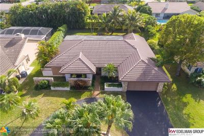 Coral Springs Single Family Home For Sale: 11120 NW 18th Ct