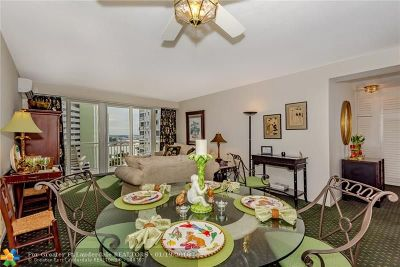 Fort Lauderdale Condo/Townhouse For Sale: 1920 S Ocean Dr #1204